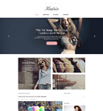 Fashion Blog Drupal Template
