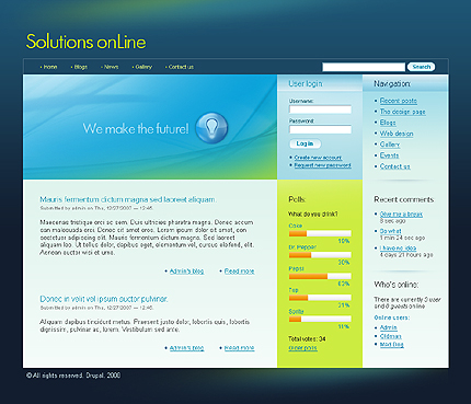 Drupal Modules Position Screenshot