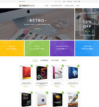Software Store PrestaShop Template
