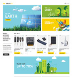 Solar Energy PrestaShop Template