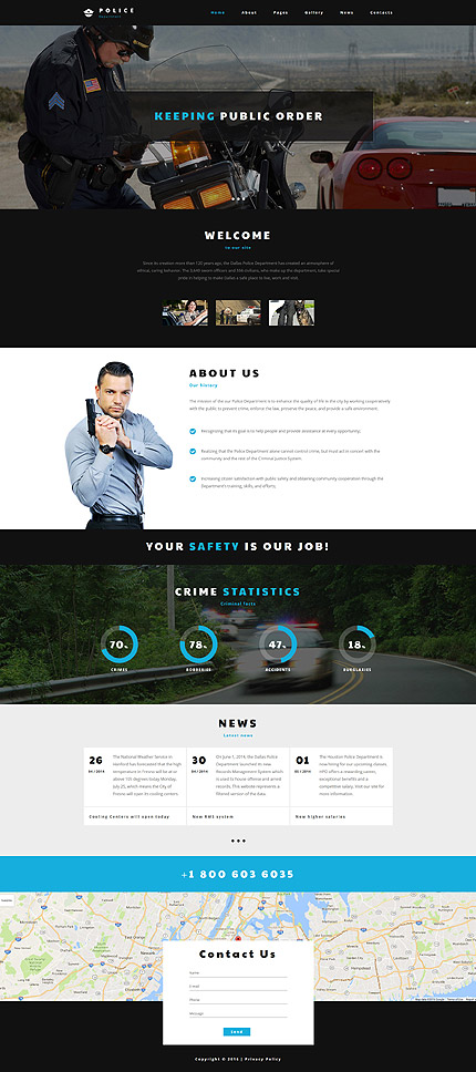 Security website inspirations at your coffee break? Browse for more Joomla #templates! // Regular price: $75 // Sources available: .PSD, .PHP #Security #Joomla
