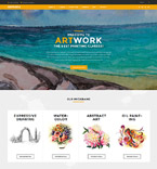 Art Work WordPress Template