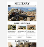 Military Forces Joomla Template