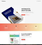 Books Landing Page Template