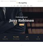 Professional Lawyer WordPress Template