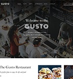 Restaurant WordPress Template