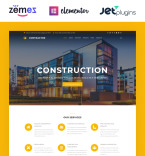Architecture Company WordPress Template