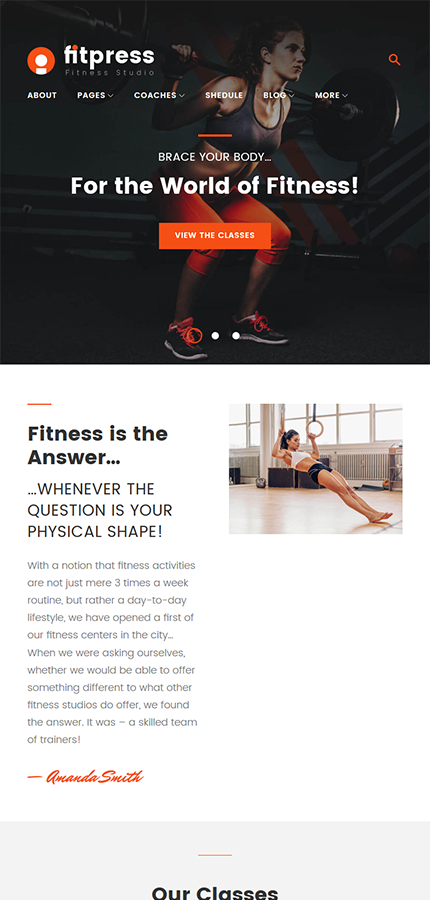 Sport Most Popular website inspirations at your coffee break? Browse for more WordPress #templates! // Regular price: $75 // Sources available:.PHP, This theme is widgetized #Sport #Most Popular #WordPress