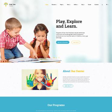 Website Template # 61183
