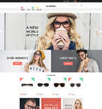 Glasses Store Magento Template
