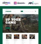 Weapon Store WordPress Template