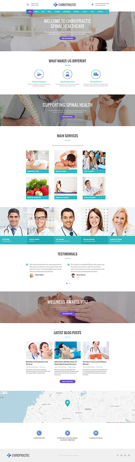 Medical Most Popular website inspirations at your coffee break? Browse for more Bootstrap #templates! // Regular price: $72 // Sources available: .HTML,  .PSD #Medical #Most Popular #Bootstrap