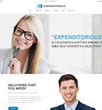 WordPress Template #61236