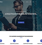 Business Coach WordPress Template