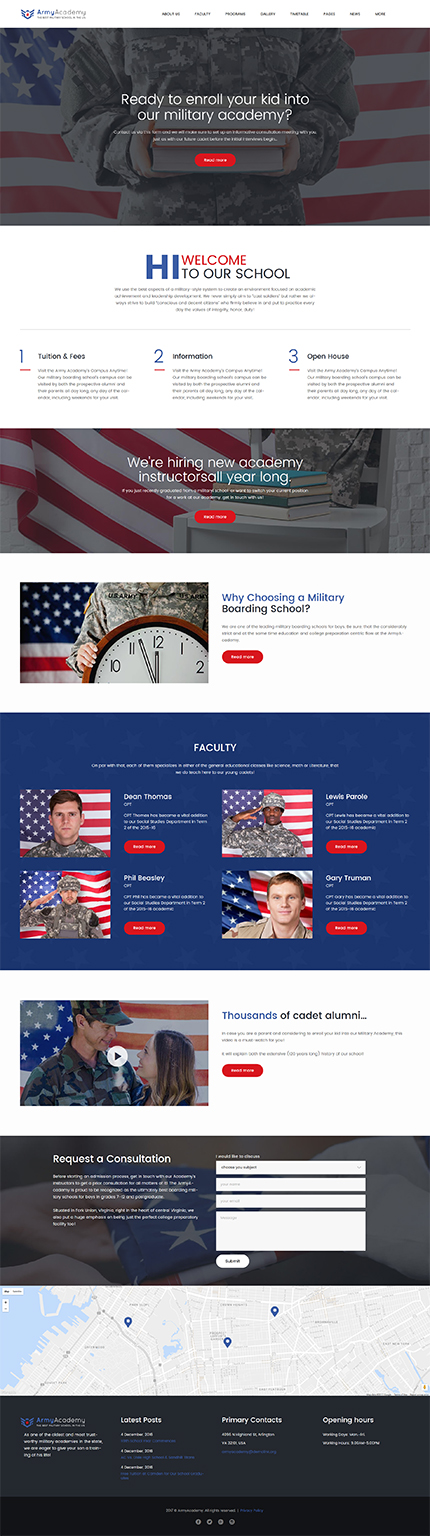 Military Most Popular website inspirations at your coffee break? Browse for more WordPress #templates! // Regular price: $75 // Sources available:.PHP, This theme is widgetized #Military #Most Popular #WordPress