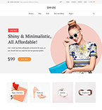 Accessories Store WordPress Template