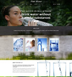 Pure Water Joomla Template
