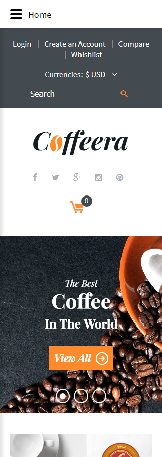 Cafe and Restaurant Most Popular website inspirations at your coffee break? Browse for more VirtueMart #templates! // Regular price: $139 // Sources available: .HTML,  .PSD, .PHP, .XML, .CSS, .JS #Cafe and Restaurant #Most Popular #VirtueMart