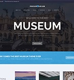 Museum WordPress Template