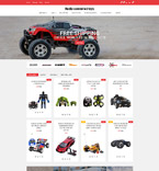 Radio Controlled Toys OpenCart Template