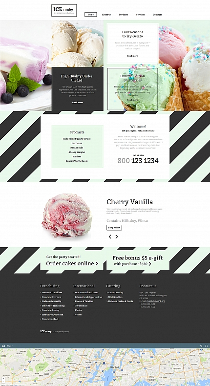 Food &amp; Drink website inspirations at your coffee break? Browse for more Moto CMS HTML #templates! // Regular price: $139 // Sources available:<b>Sources Not Included</b> #Food &amp; Drink #Moto CMS HTML