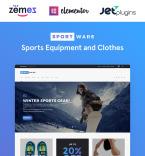 Sport Store WordPress Template