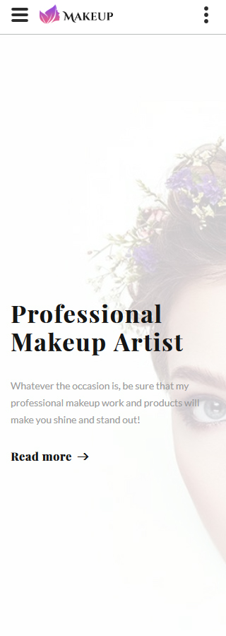 Beauty website inspirations at your coffee break? Browse for more Bootstrap #templates! // Regular price: $75 // Sources available: .HTML,  .PSD #Beauty #Bootstrap