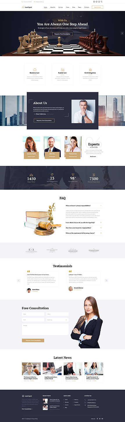 Law Most Popular website inspirations at your coffee break? Browse for more Bootstrap #templates! // Regular price: $75 // Sources available: .HTML,  .PSD #Law #Most Popular #Bootstrap