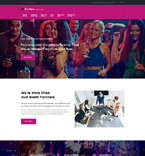 Events Company WordPress Template