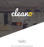 Clean Hotel Joomla Template