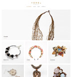 Jewelry Boutique WordPress Template
