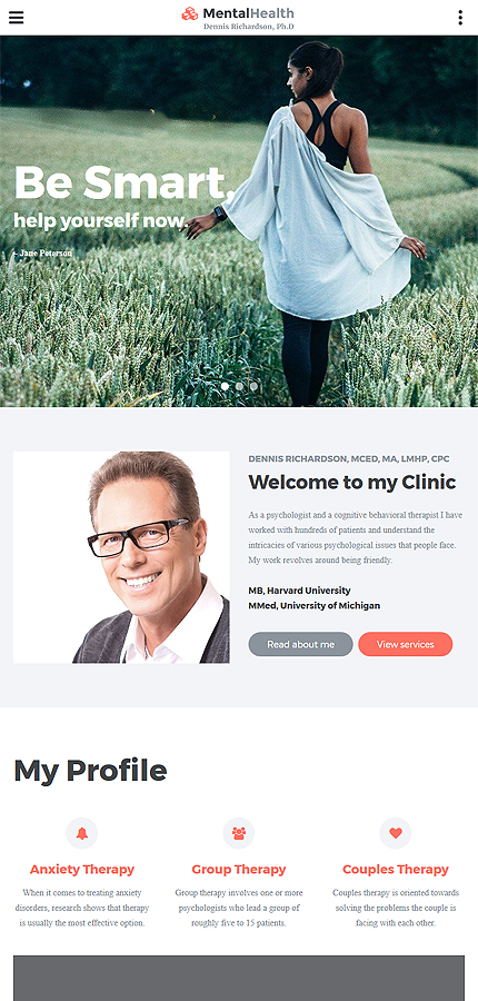 Medical Most Popular website inspirations at your coffee break? Browse for more Bootstrap #templates! // Regular price: $75 // Sources available: .HTML,  .PSD #Medical #Most Popular #Bootstrap