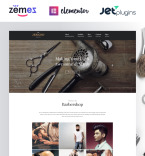 Barber Shop WordPress Template