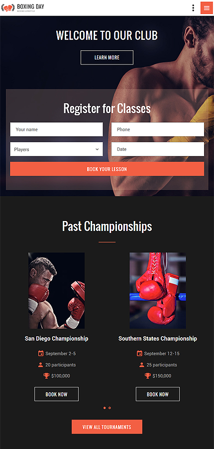 Sport Most Popular website inspirations at your coffee break? Browse for more Bootstrap #templates! // Regular price: $75 // Sources available: .HTML,  .PSD #Sport #Most Popular #Bootstrap