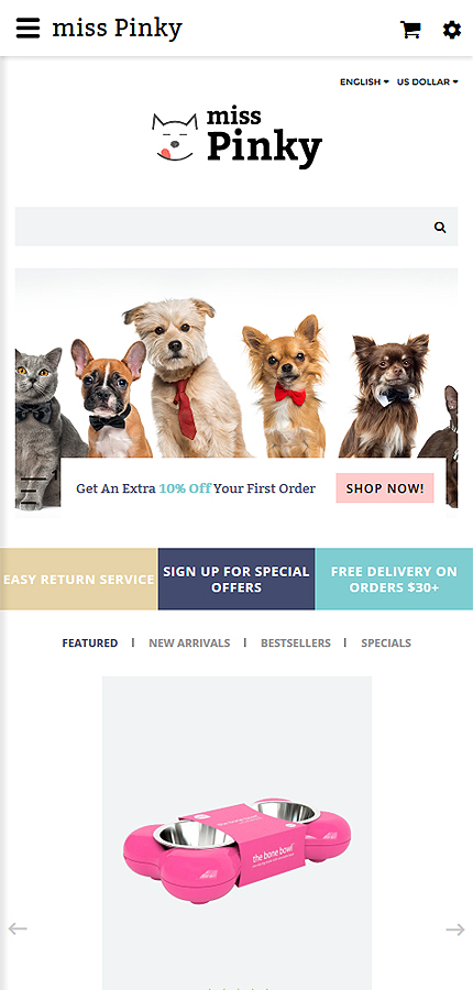 Animals & Pets Most Popular website inspirations at your coffee break? Browse for more OpenCart #templates! // Regular price: $64 // Sources available: .PSD, .PNG, .PHP, .TPL, .JS #Animals & Pets #Most Popular #OpenCart