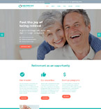 Retirement Joomla Template