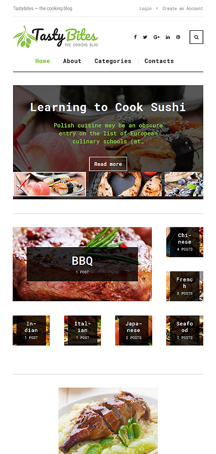 Food & Drink Most Popular website inspirations at your coffee break? Browse for more WordPress #templates! // Regular price: $45 // Sources available:.PHP, This theme is widgetized #Food & Drink #Most Popular #WordPress