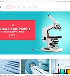 Medical Equipment WordPress Template