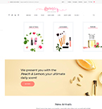 Cosmetics WordPress Template