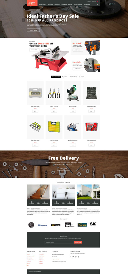 opencart template editor - most popular type opencart templates template 62077