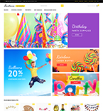Everything For Parties Magento Template