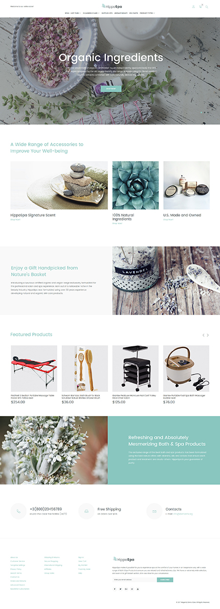 Beauty website inspirations at your coffee break? Browse for more Magento #templates! // Regular price: $179 // Sources available: .PSD, .XML, .PHTML, .CSS #Beauty #Magento