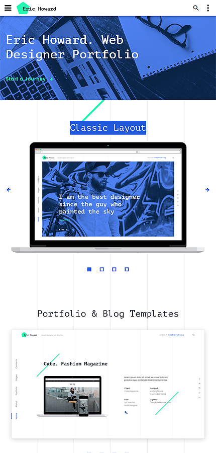 Web Design website inspirations at your coffee break? Browse for more Bootstrap #templates! // Regular price: $75 // Sources available: .HTML,  .PSD #Web Design #Bootstrap