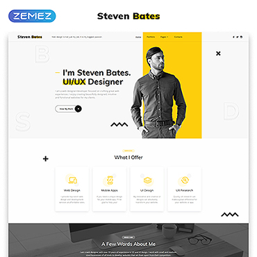 Website Template # 62124