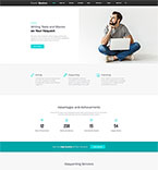 Bootstrap template 62125 - Buy this design now for only $75