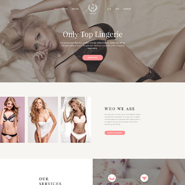 Website Template # 62129