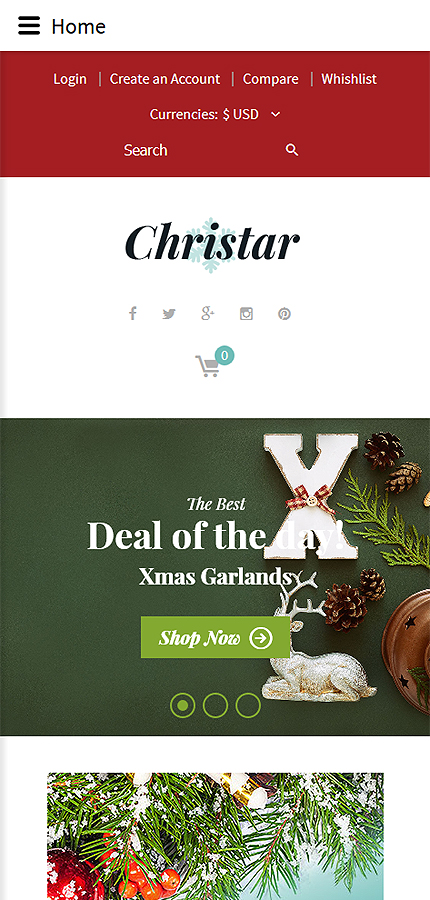 Christmas Templates website inspirations at your coffee break? Browse for more VirtueMart #templates! // Regular price: $139 // Sources available: .HTML,  .PSD, .PHP, .XML, .CSS, .JS #Christmas Templates #VirtueMart