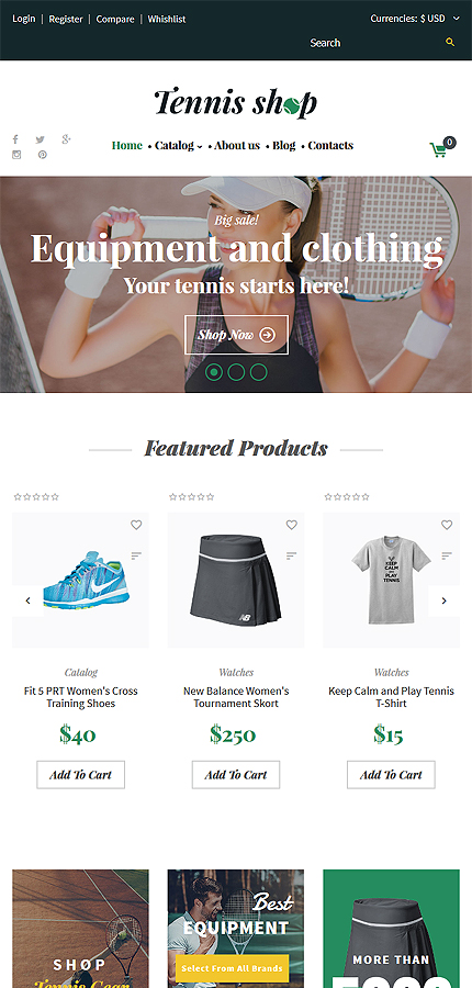 Sport website inspirations at your coffee break? Browse for more VirtueMart #templates! // Regular price: $139 // Sources available: .HTML,  .PSD, .PHP, .XML, .CSS, .JS #Sport #VirtueMart