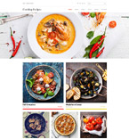 Online Recipes Joomla Template