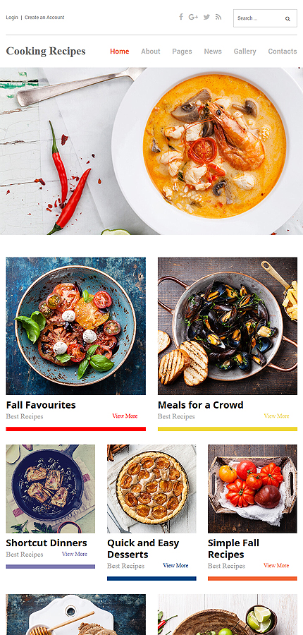 Food & Drink website inspirations at your coffee break? Browse for more Joomla #templates! // Regular price: $75 // Sources available: .PSD, .PHP #Food & Drink #Joomla